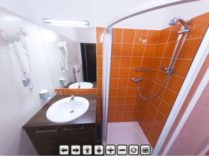 Guesthouse BLUE (Building B) – bathroom